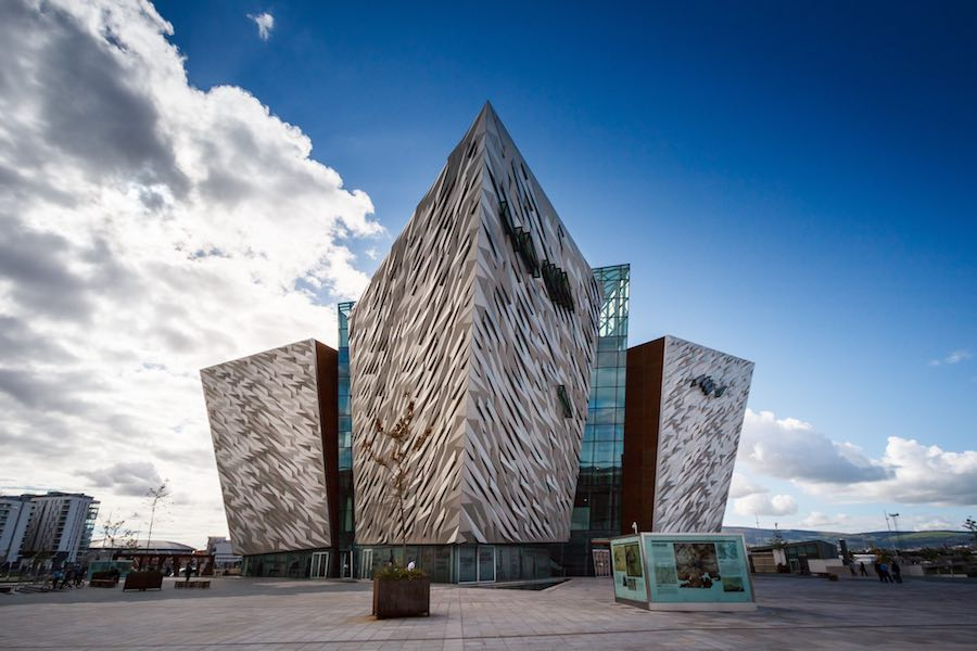 Titanic Belfast by CivicArtsand Todd Architects - Photo by Nico Kaiser, CC.