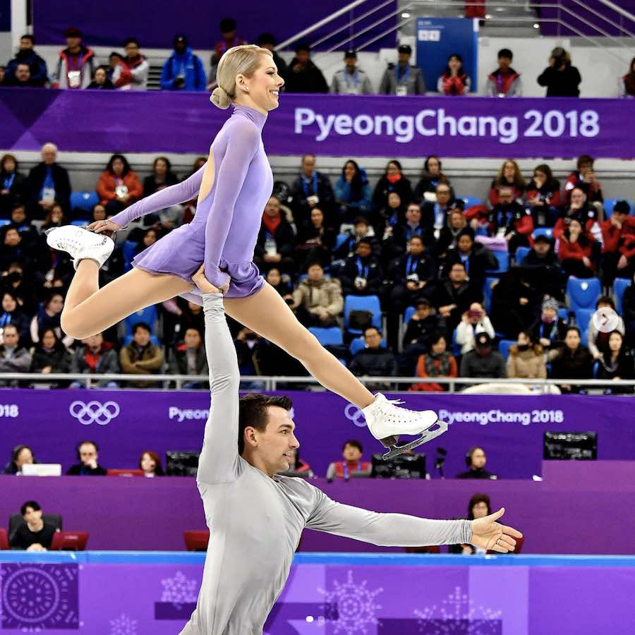 Figure skating @ Winter Olympics 2018 - Photo by @UPI via IG