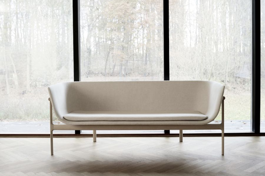 5 contemporary Nordic seats. Tailor Sofa by Rui Alves - Photo by Menu.