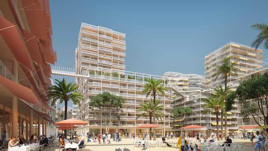 Meridia Plaza - credit: Lambert Lenack Architects + MyLuckyPixel.