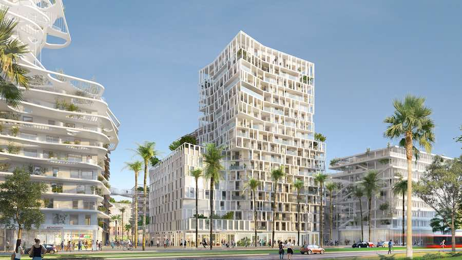 Metropolitan Square - credit: Cino Zucchi Architetti + My Lucky Pixel.