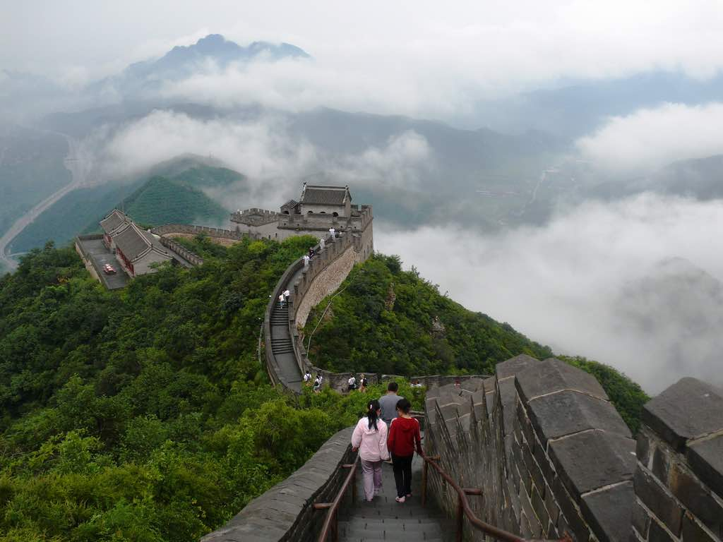 Great Chinese Wall - Photo by Oriol Gascon, CC.