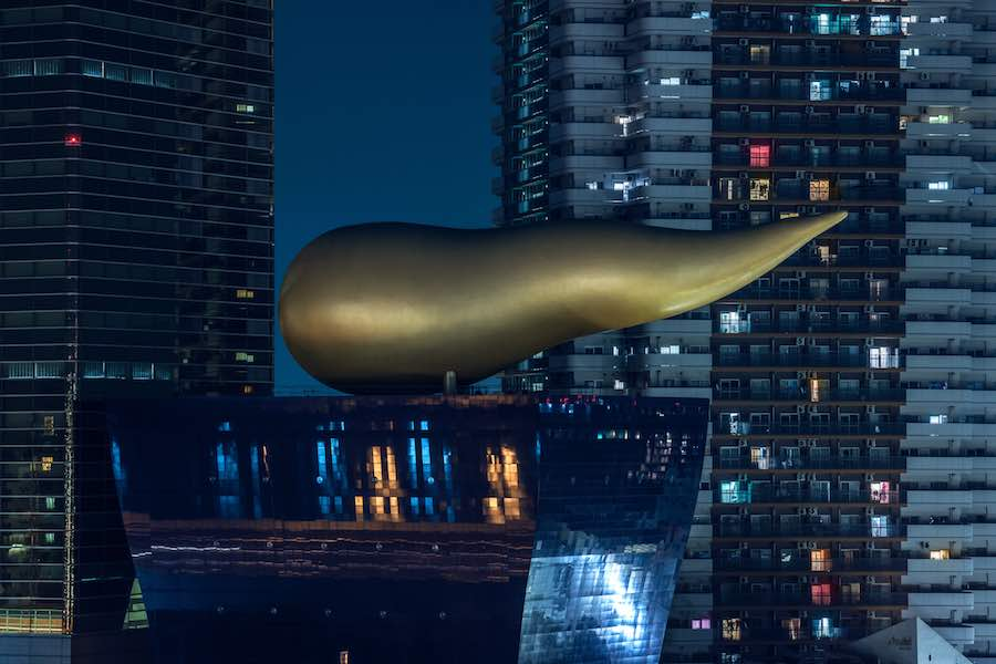The Golden Flame. Tokyo Blade Runner-style nightscapes - Photo by Tom Blachford