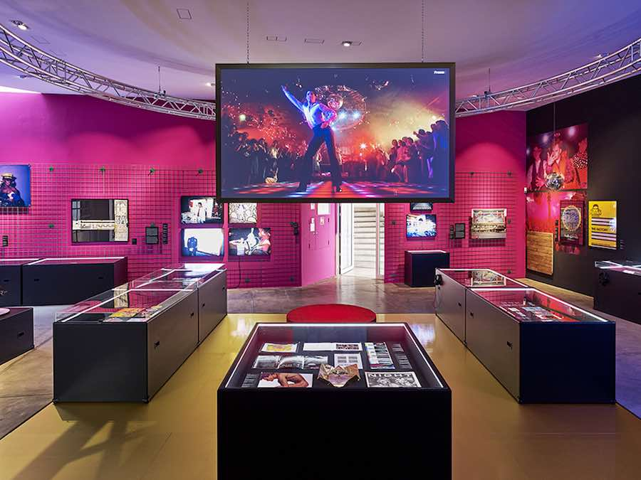 """Night Fever. Designing Club Culture 1960 – Today"" © Vitra Design Museum, photo: Mark Niedermann."