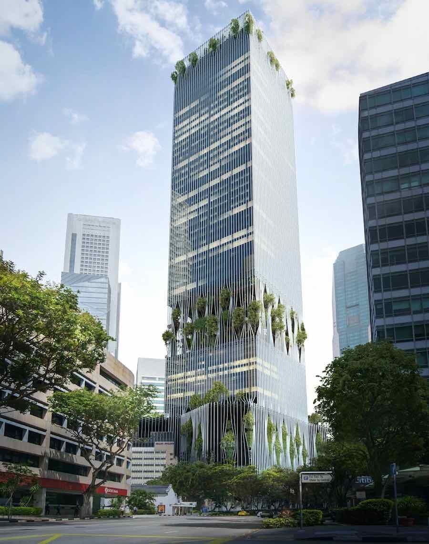 CRA+BIG Capitaland Tower - Image by BIG-Bjarke Ingels Group