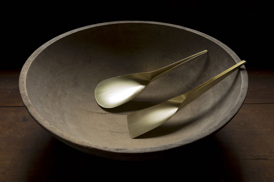 Furnishing Utopia @ Design Within Reach in NYC. L L&G utensils - Courtesy of Ladies & Gentlemen