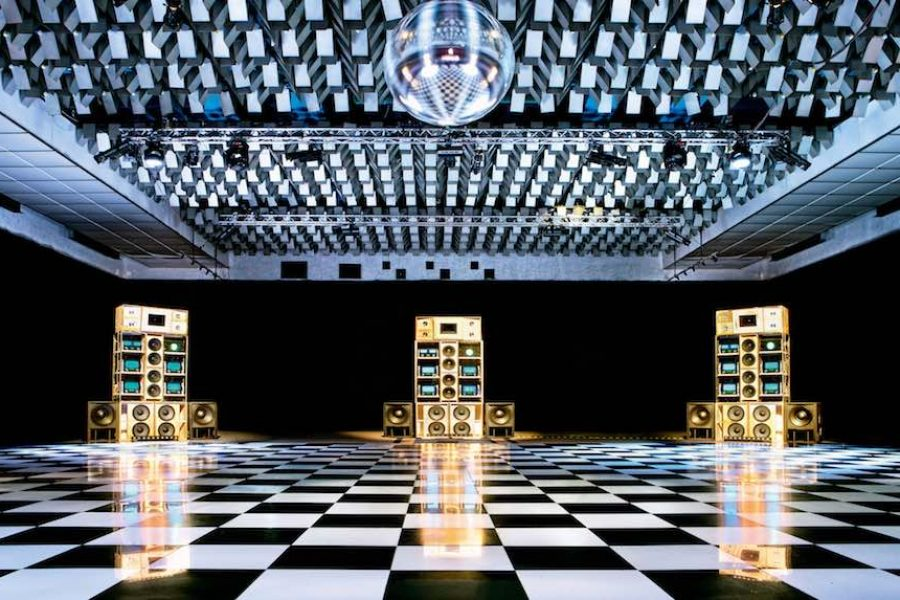 Despacio Sound System, New Century Hall, Manchester International Festival, July 2013. © Rod Lewis.