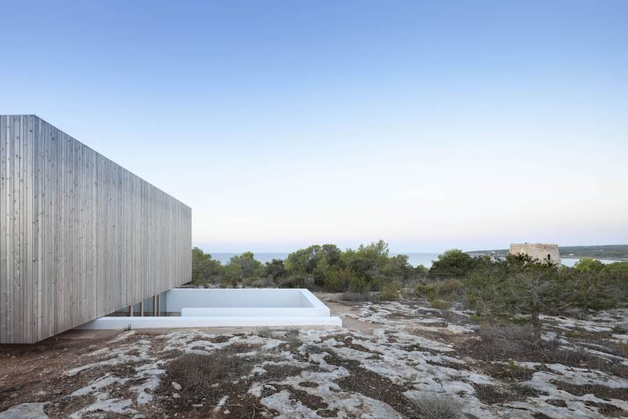 Island Mirage villa by Marià Castelló Architecture –  Photo by Marià Castelló Martínez.