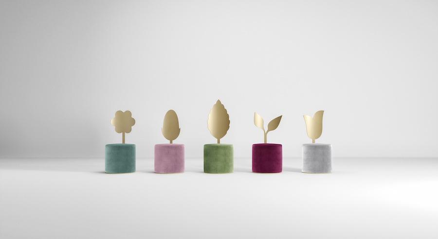 Giardino Botanico: Secolo XXI's debut collection by Artefatto design Studio - Image: courtesy of Secolo XXI.