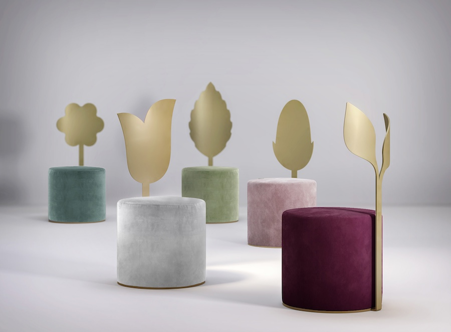 Giardino Botanico: Secolo XXI's debut collection by Artefatto design Studio - Image: courtesy of Secolo XXI.