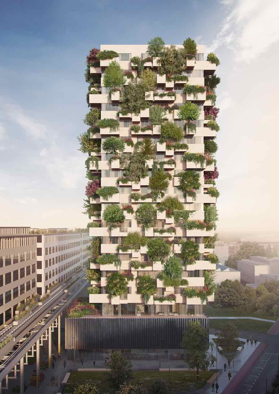 Stefano Boeri Architetti: Eindhoven Trudo Vertical Forest - 2018.