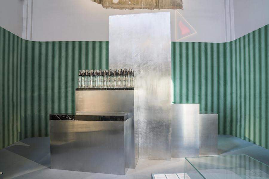 ELIT PROUN BAR inspired by the Russian Avant-Garde by Carmody Groarke for elit Vodka - Photo by Mauro Consilvio.