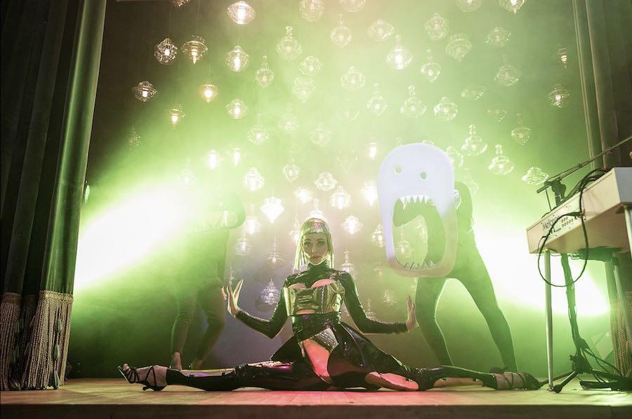 Lasvit's Monster Cabaret -Photo: courtesy of Lasvit.