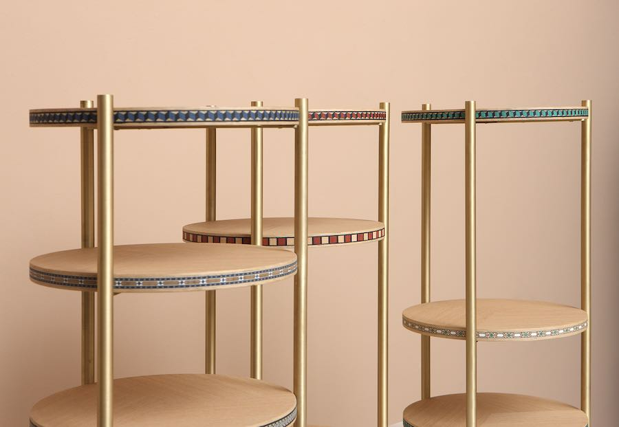 NADA DEBS Funquetry occasional table - Photo: courtesy of Nada Debs Design Studio.