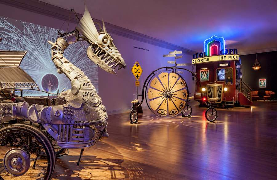 "No Spectators: The Art of Burning Man"" @ SAAM. Photo by Ron Blunt."