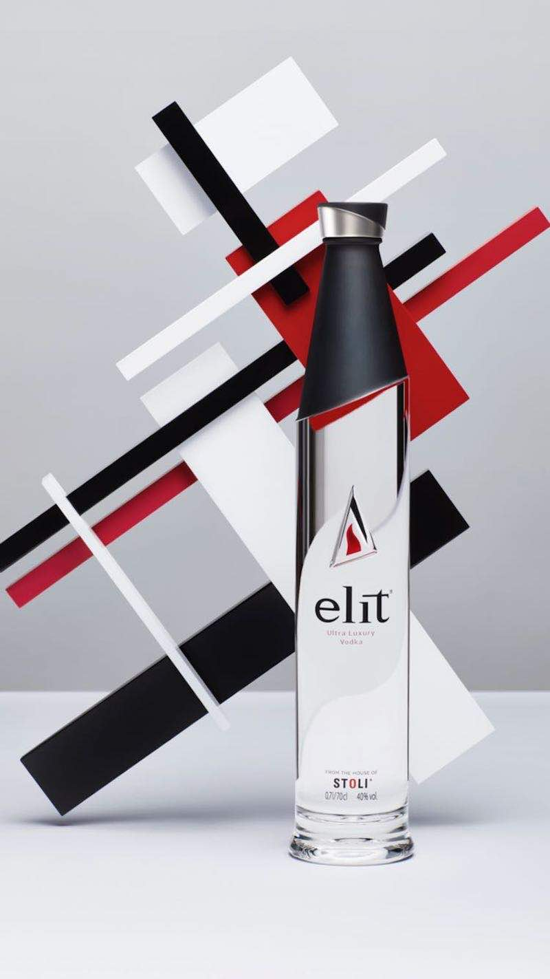 elit Vodka pays homage to the Russian avant-garde & Eli Lissitzky