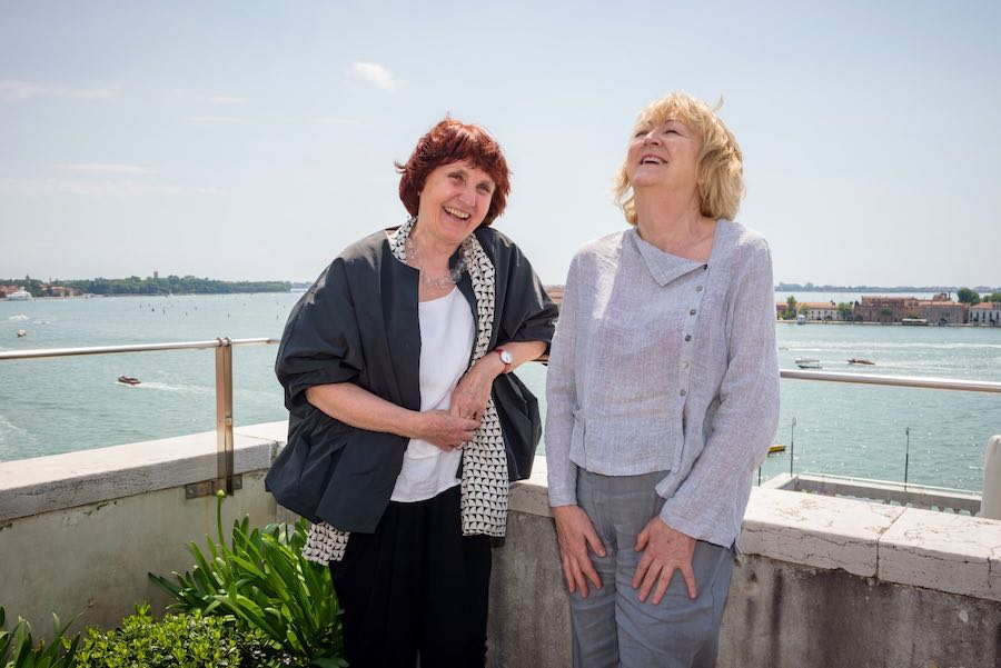Architecture is a gift: Yvonne Farrell and Shelley McNamara in Venice - Photo by Andrea Avezzù Courtesy of La Biennale di Venezia.