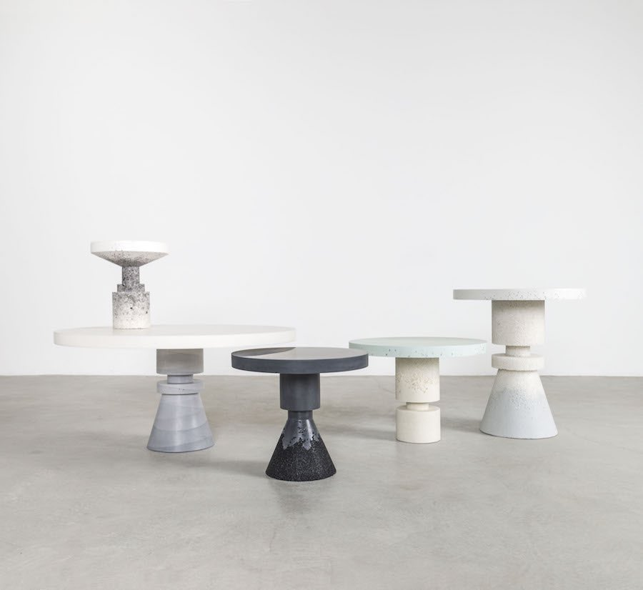 Chess-inspired furniture - Anna Karlin and Fernando Mastrangelo's capsule collection - Photo by Cary Whittier.