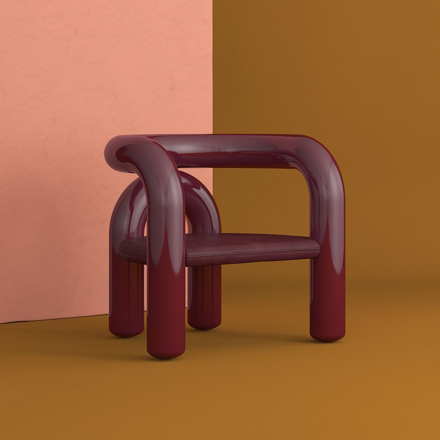 Jumbo: Neotenic-Lounge chair.