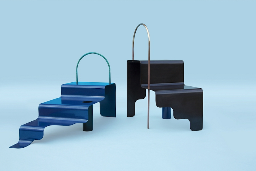 Norway x New York Sight Unseen OFFSITE. Step Series by Erik Ø for Kin & Company. Photo by Erik Ø.