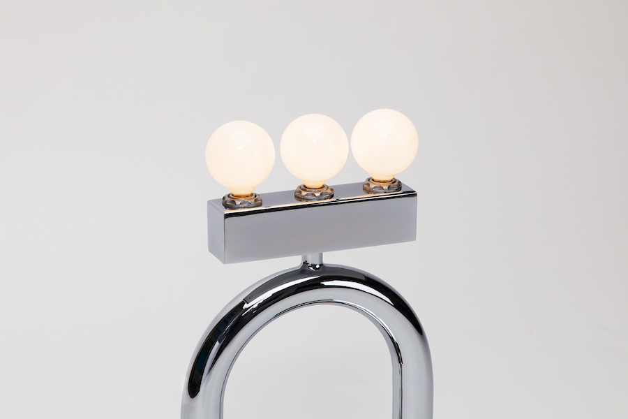 Another Human's Memphis school-inspired lamps - Photo by Another Human.