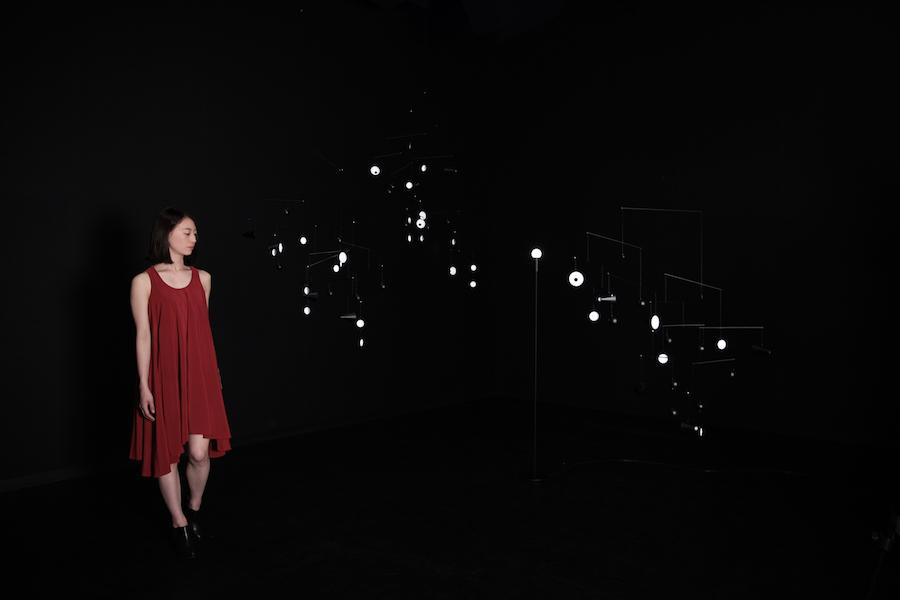 1.625m/S2: Hiroto Yoshizoe's constellation of moons - Photo by Shunsuke Watanabe.