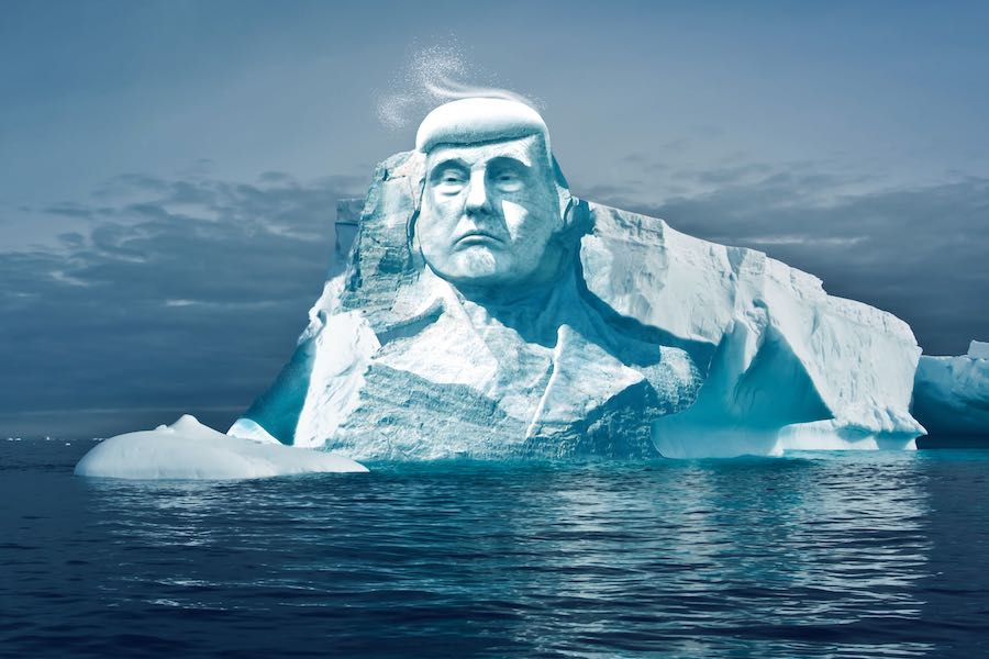 Project TrumpNoMore - image by TrumpNoMore / Melting Ice.
