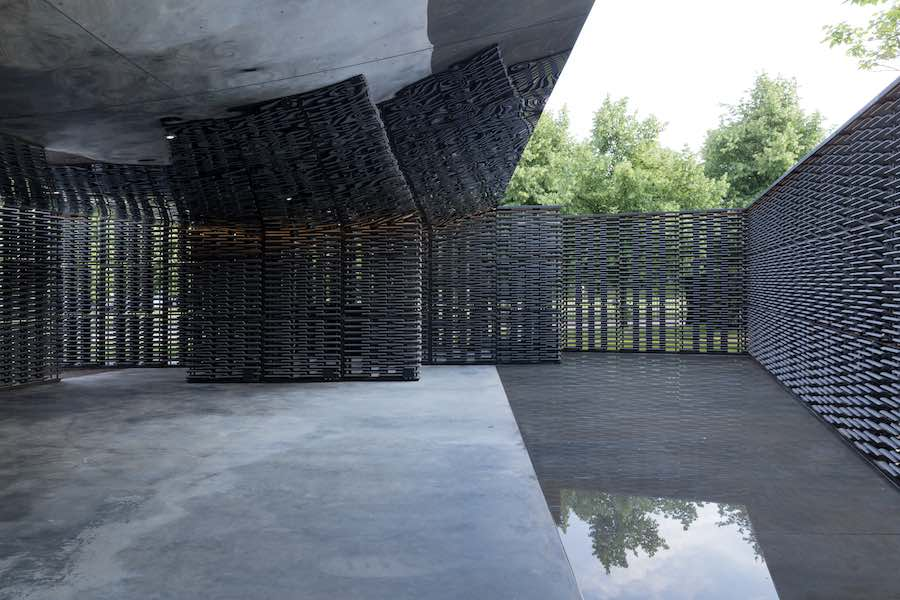 Serpentine Pavilion 2018 - Photo by Iwan Baan, courtesy of the Serpentine Galleries, London.