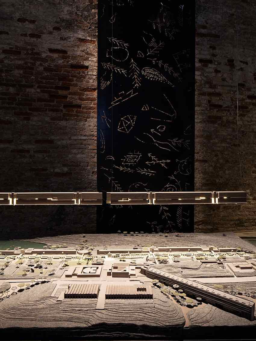 Freespace. Corviale regeneration by Laura Peretti - Photo by Francesco Galli courtesy of La Biennale di Venezia.