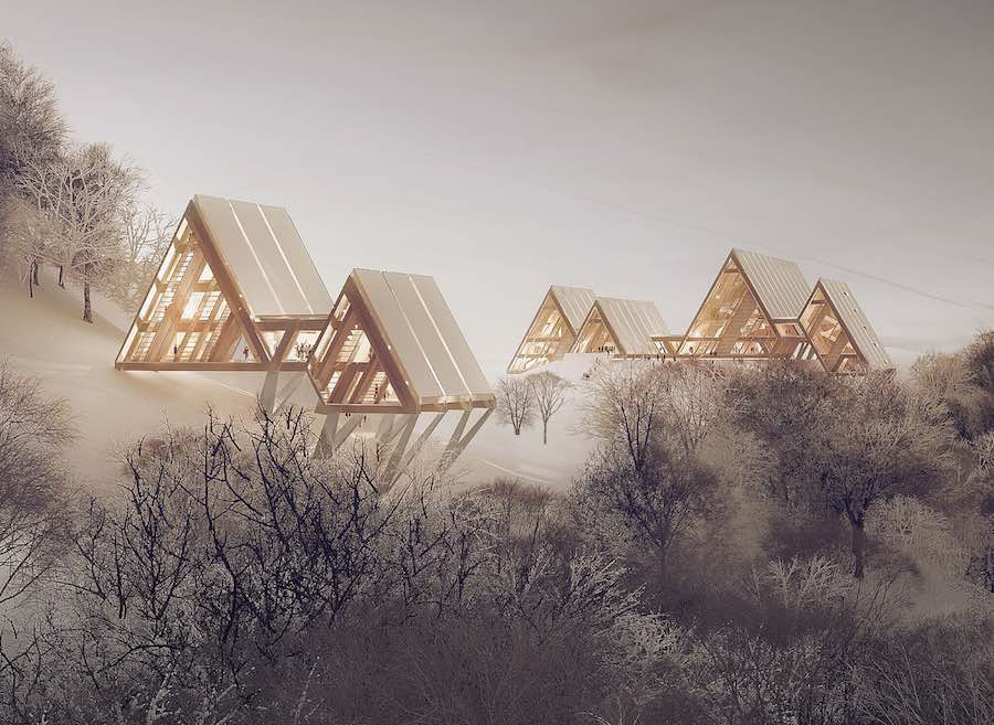 Casentine Forest project by Diverserighestudio - courtesy of Arcipelago Italia.