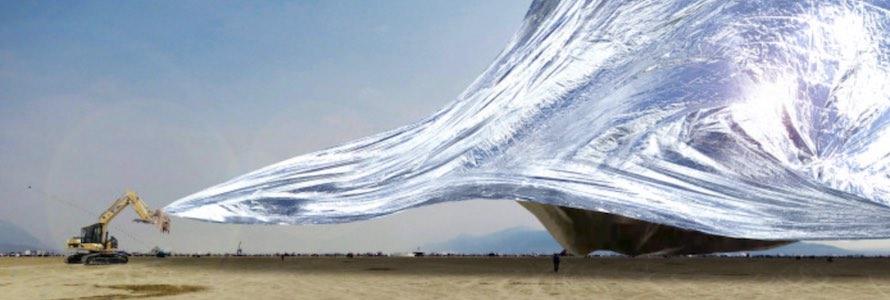 Burning Man's NASA blanket
