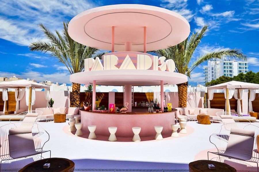 Photo by Adam Johnston - Courtesy of PARADISO Ibiza Art Hotel.