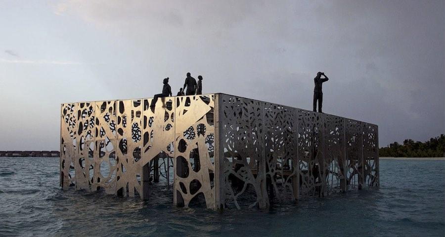 Coralarium by Jason Decaires Taylor.