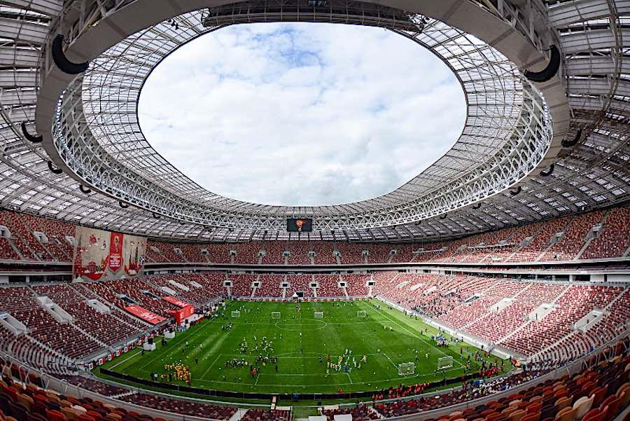 FIFA World Cup 2018. Luzhniki Stadium, Moscow - Photo IIP Photo Archive, CC,