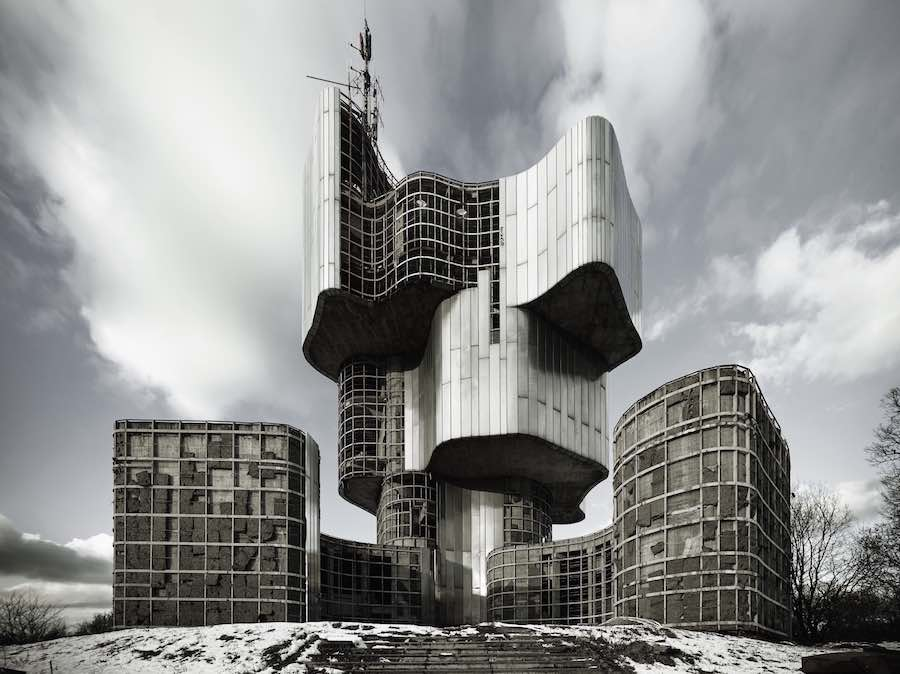 Monument of the Uprising People Kordun Banija - Photo by Valentin Jeck; courtesy of MoMA.