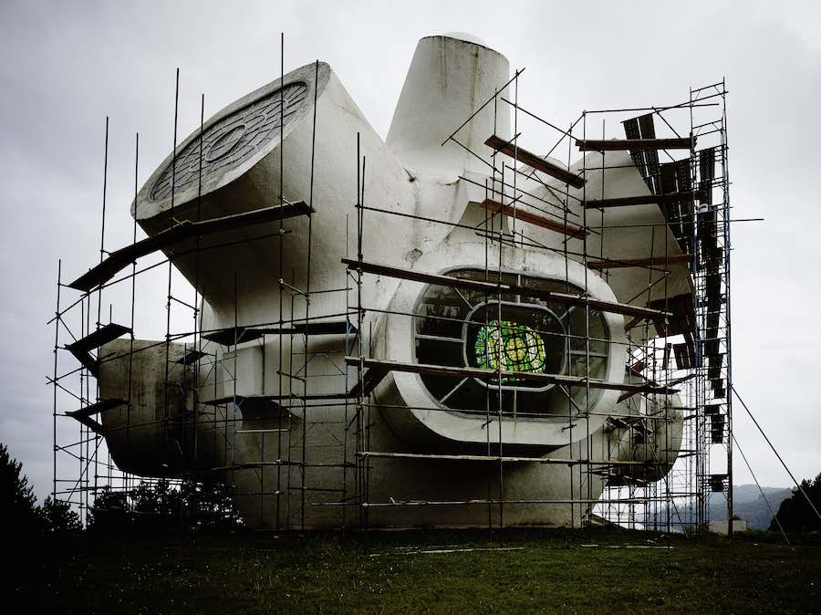 Valentin Jeck - Ilinden Spomenik: Macedonia's Space-Age Monument to Freedom - Courtesy of MoMA