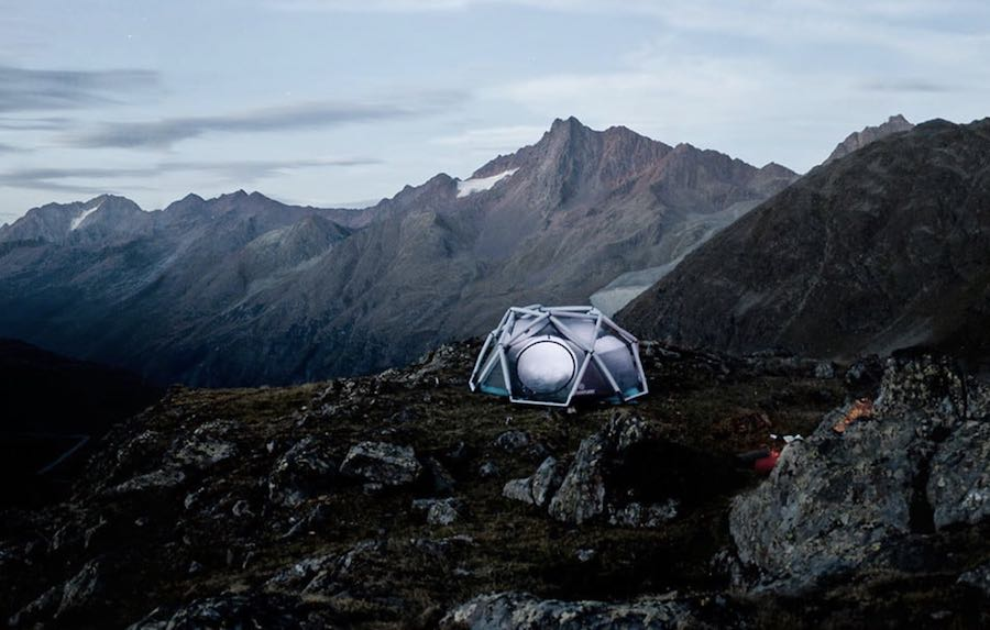 5 innovative tent designs. Photo by Heimplanet.