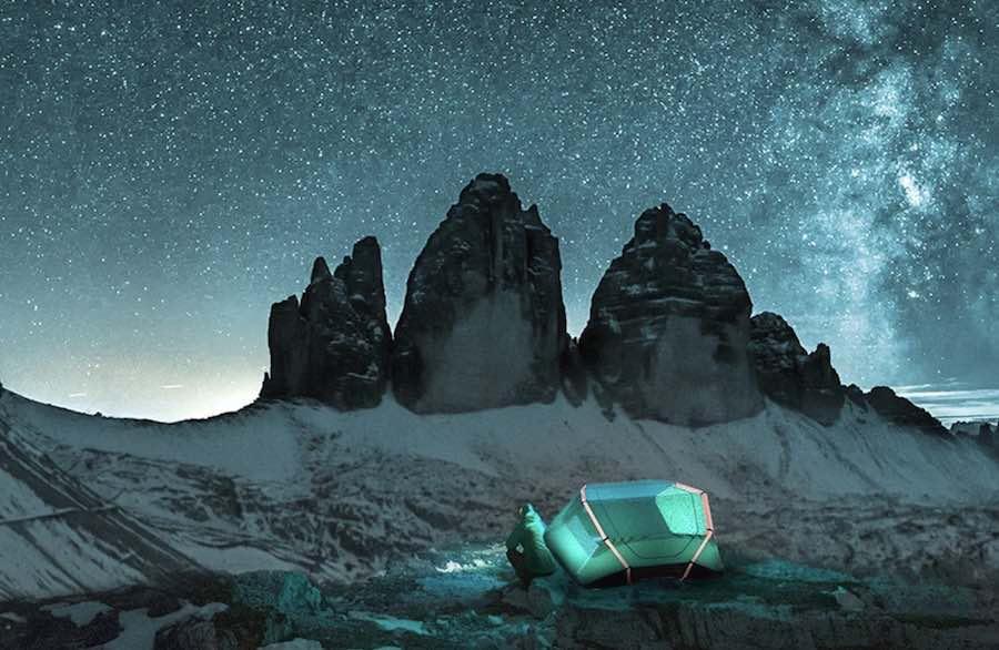 5 innovative tent designs. Photo by Paulo van Laar.