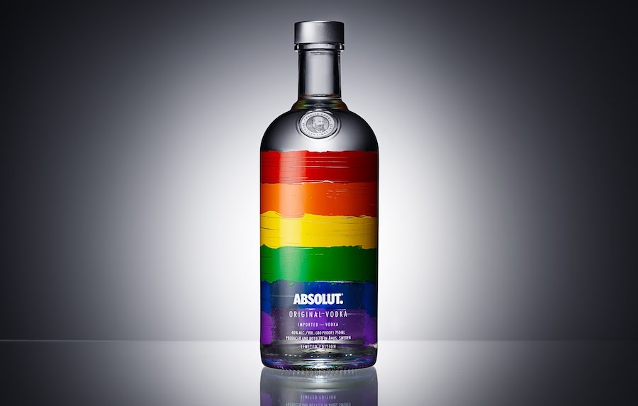 Absolut Rainbow - ©Absolut vodka.