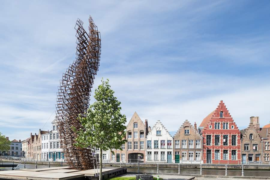 Triennial Bruges 2018 - John Powers' installation - Photo by Iwan Baan, courtesy of Triennial Bruges.
