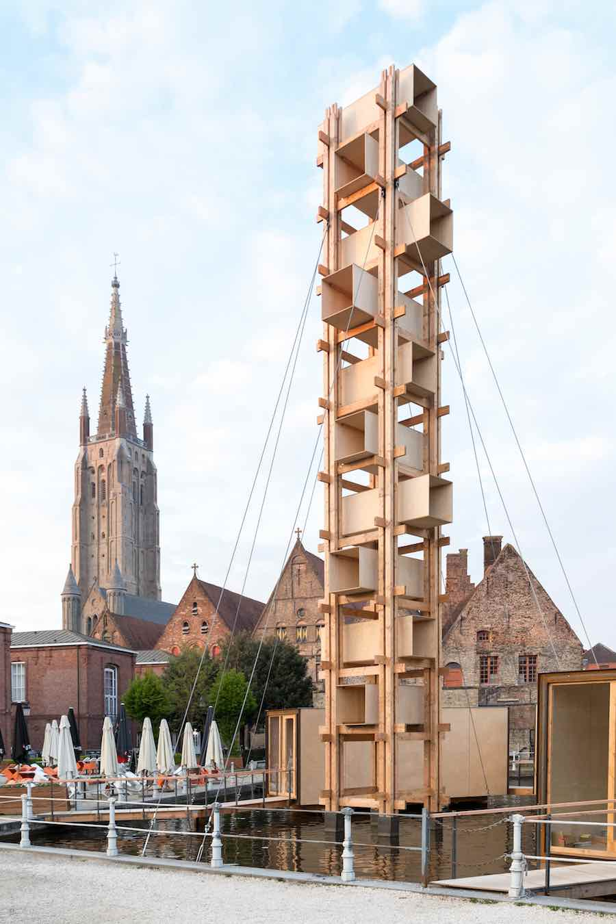 Triennial Bruges 2018 - Atelier4' installation - Photo by Iwan Baan, courtesy of Triennial Bruges.