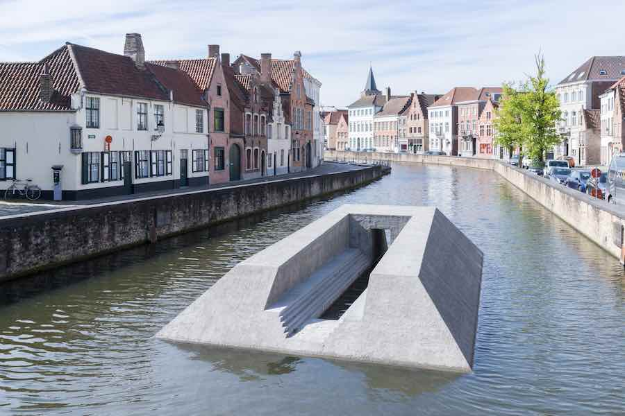 Triennial Bruges 2018 - Renato Nicolodi's installation - Photo by Iwan Baan, courtesy of Triennial Bruges.