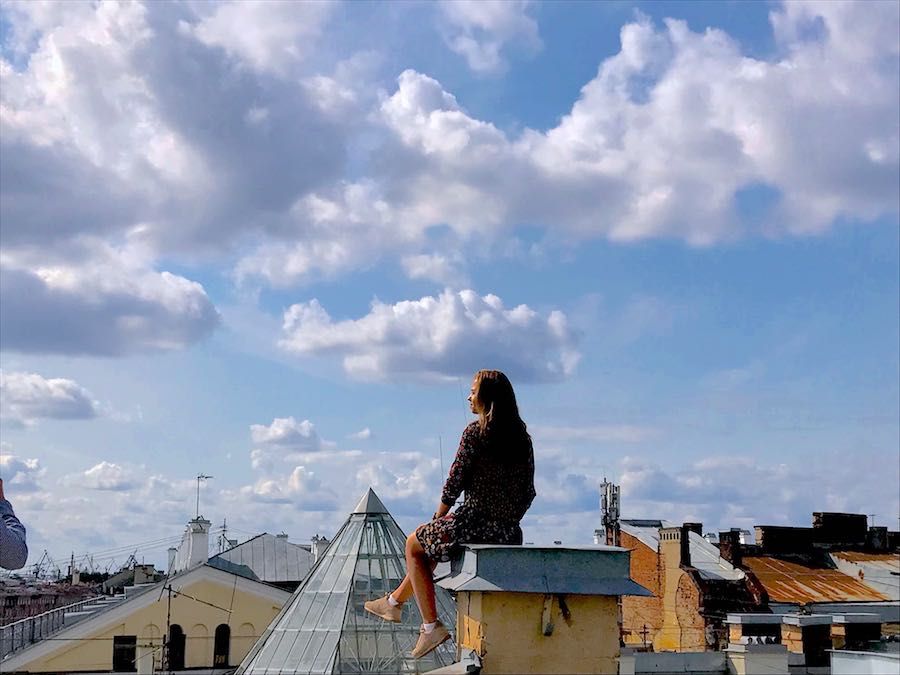 St Petersburg roof top tour - photo by Enrico Zilli @Archipanic