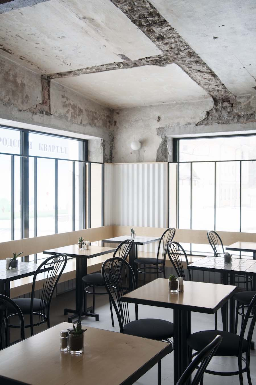 Dizengoff 99 restaurant in Moscow - Photo by Crosby Studios