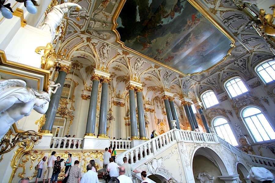 08. St Petersburg – Hermitage Jordan Staircase – Photo by Matthias Kabel CC