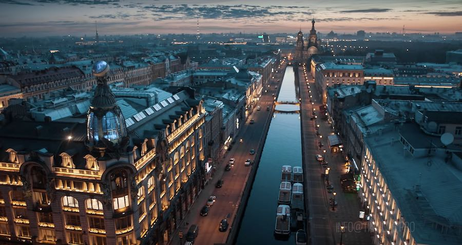 St Petersburg - Singer Palace - ©Timelab.pro
