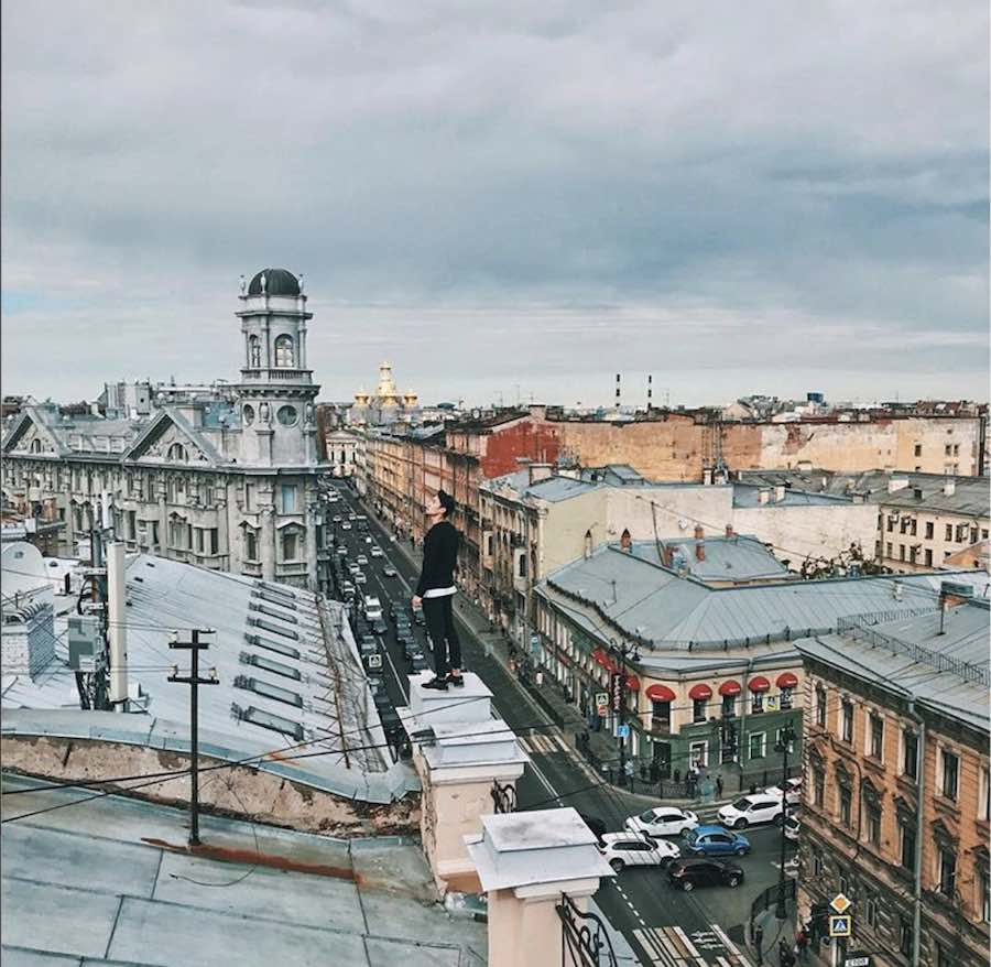 St Petersburg Roof Top tour -