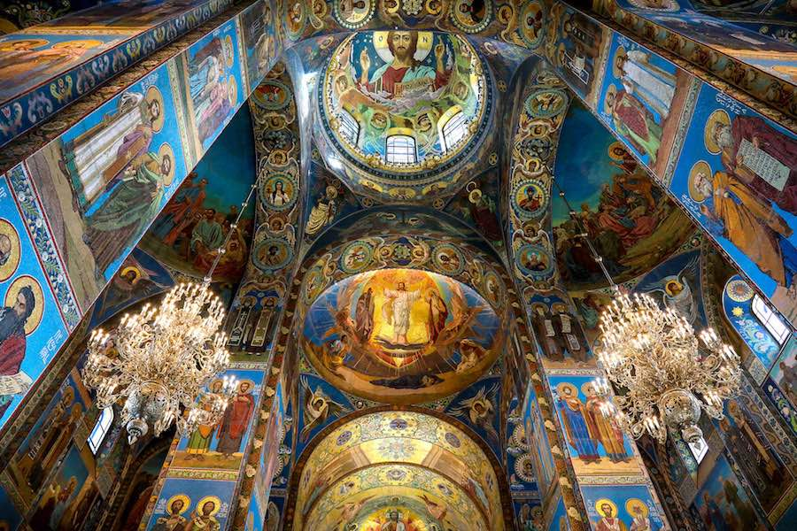 St Peterburg - Church of the Saviour on Blood - Photo by svklimkin, CC.
