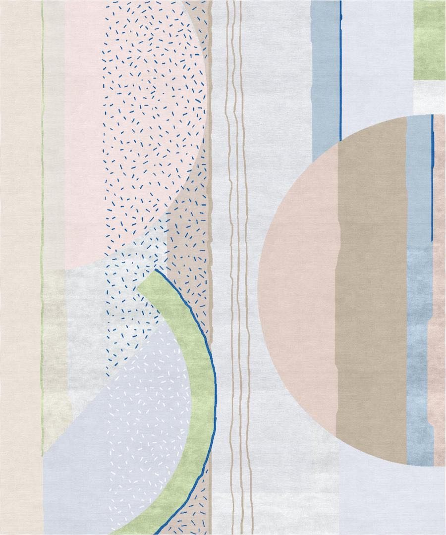 Russian Avantgarde carpets by Angelina Askeri for Tapis Rouge – Photo: courtesy of Tapis Rouge.