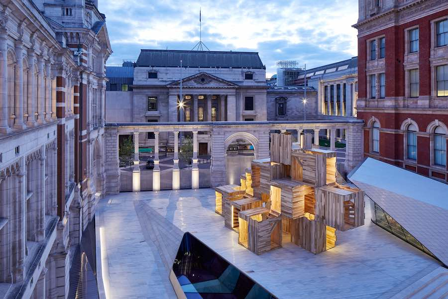 LDF18: 5 multi-sensory design exhibitions @ Victoria & Albert Museum . MULTIPLY by Waugh Thistleton Architects - Photo by Andy Stagg.